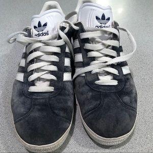 Adidas Gazelle Sneakers - Sz 9 - grayish blue